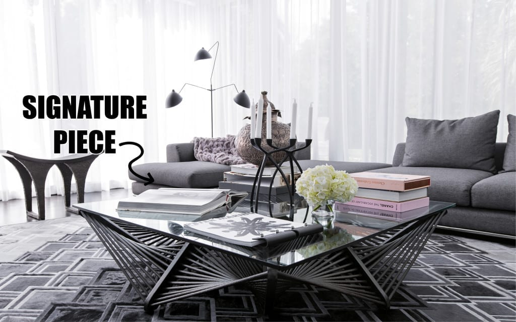 DESIGNER SOLUTIONS: How to Design a Room Around a Signature Piece