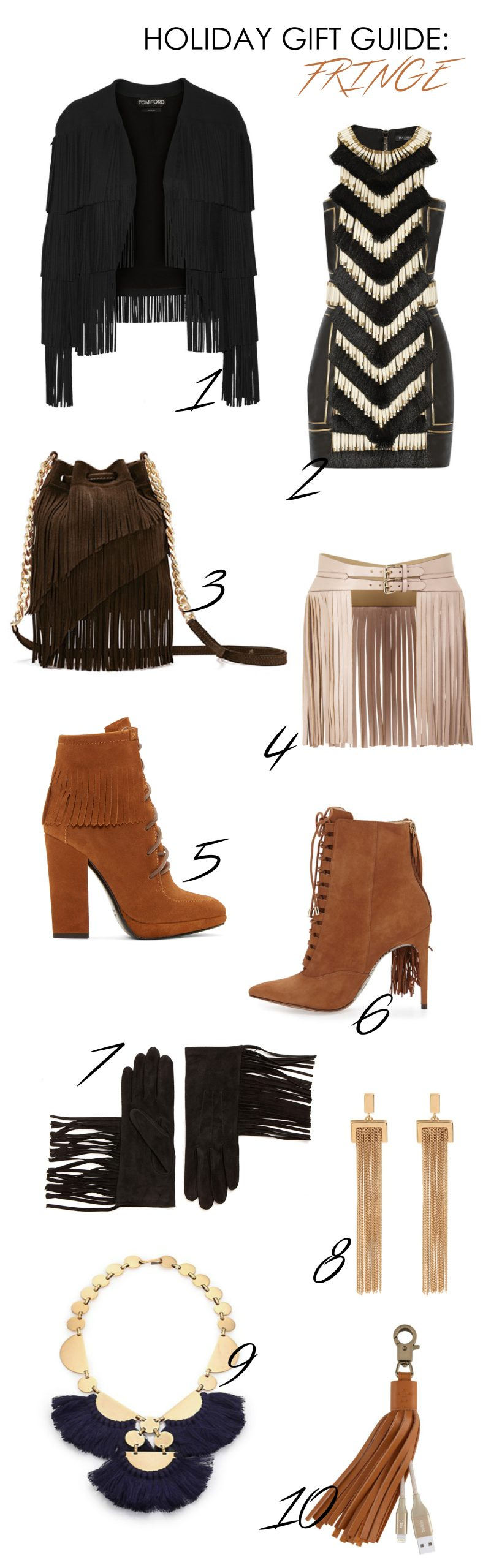 Gift Guide: All FRINGED Out!
