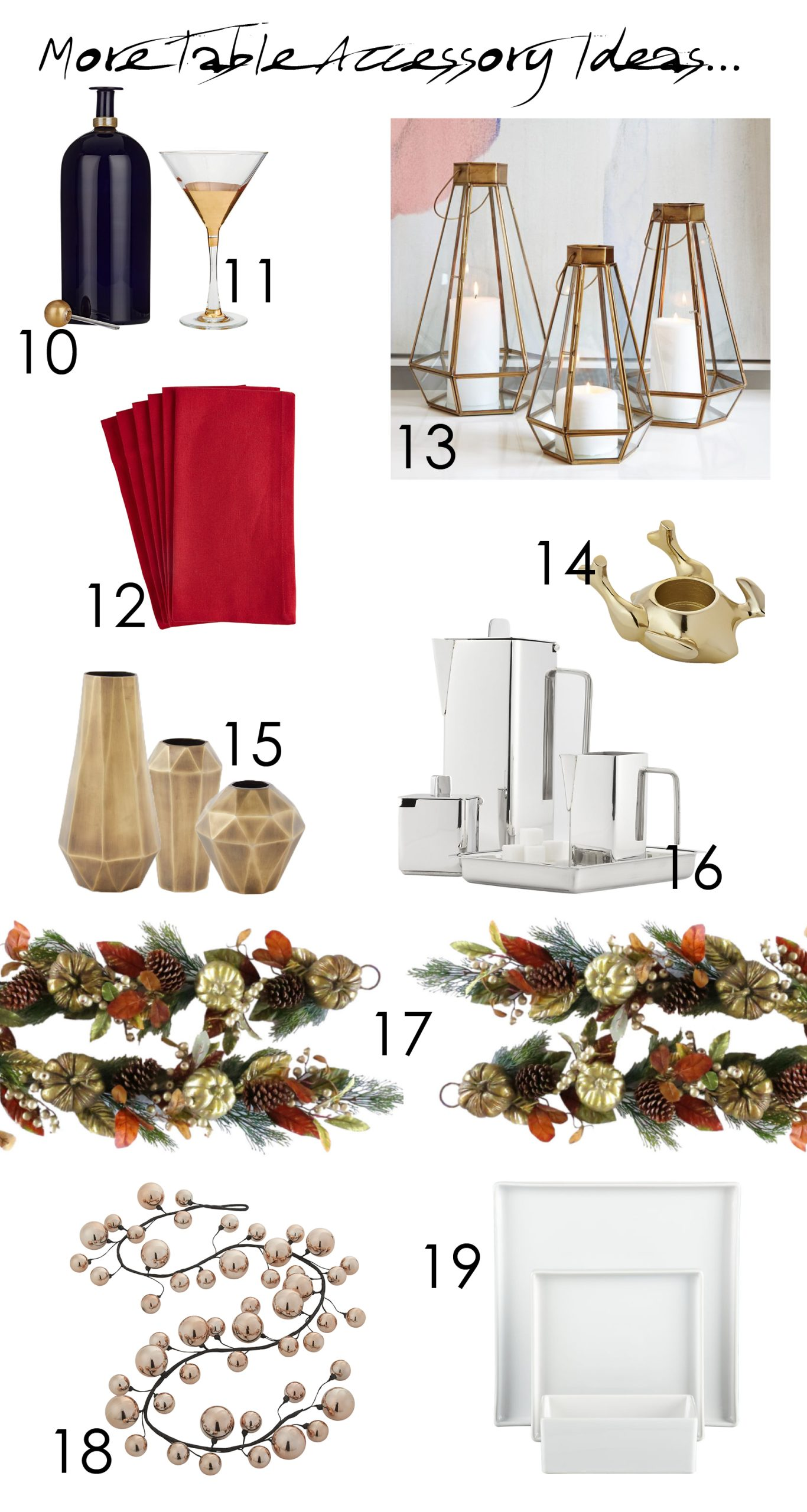 The Well-Dressed Table: Modern Holiday Tablescape Ideas