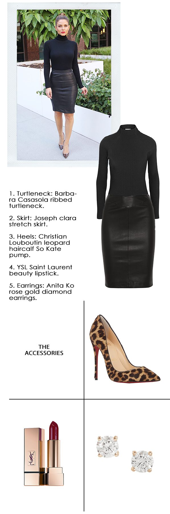 Get the Look: Chic Leather Skirts