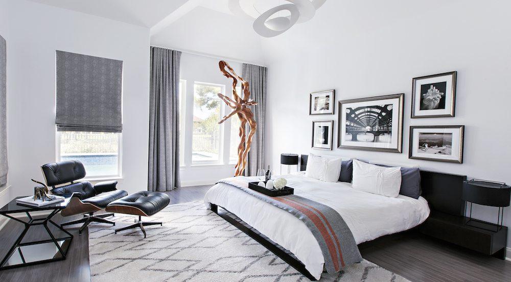 Modern Bachelor Contour Interior Design