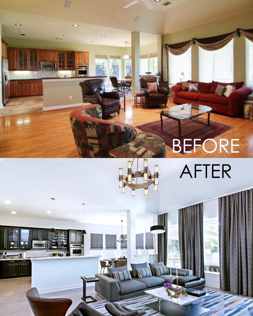 Before And After Contour Interior Design