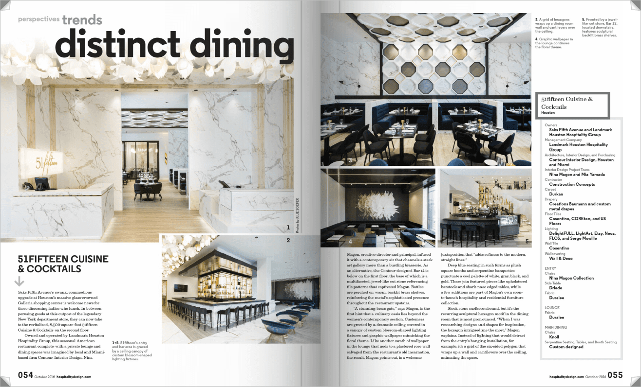 Press - Contour Interior Design