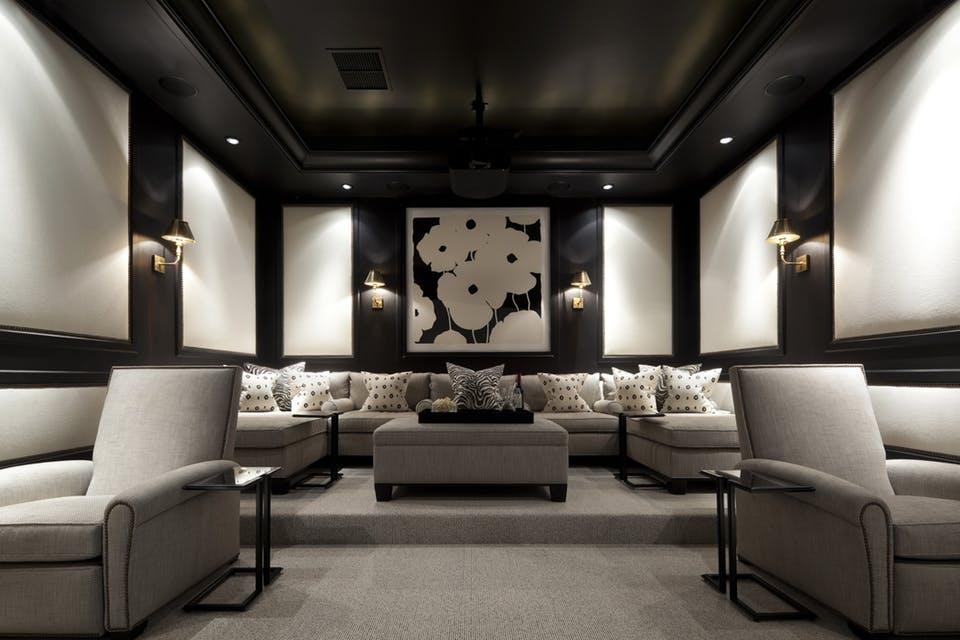 The Modern Media Room Contour Interior Design