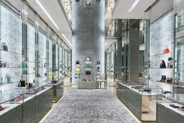 Dior Flagship Store by Peter Marino - Beijing, China
