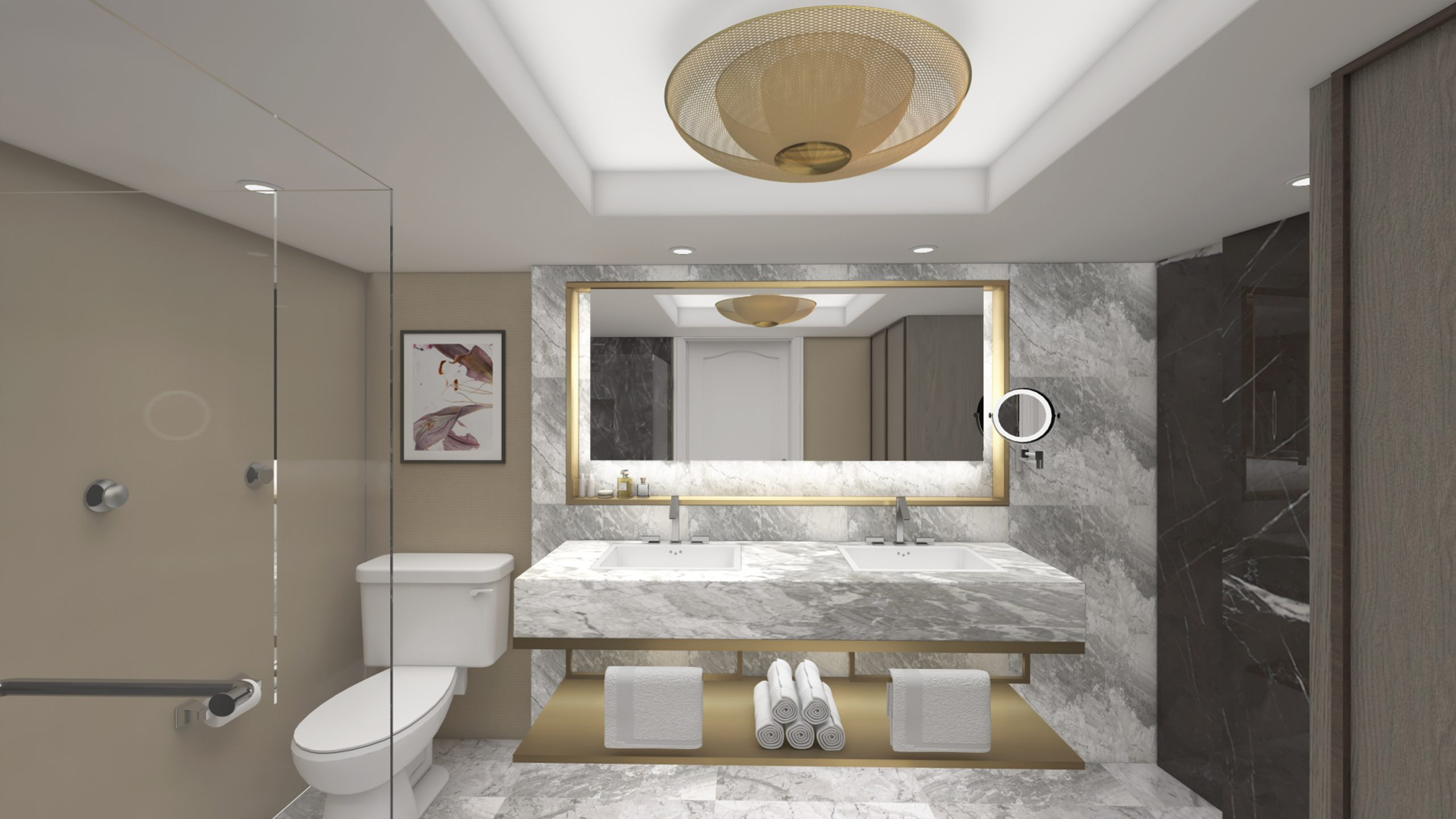 Bellagio Hotel Las Vegas Tower Suite Remodel Contour