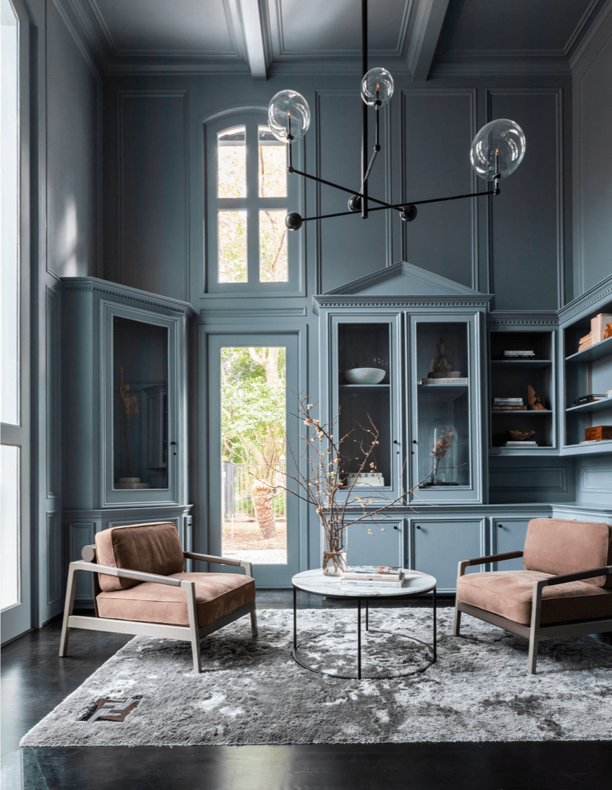 Residential Interior Project Has Modern Yet Vintage Take: Contour Interior Design